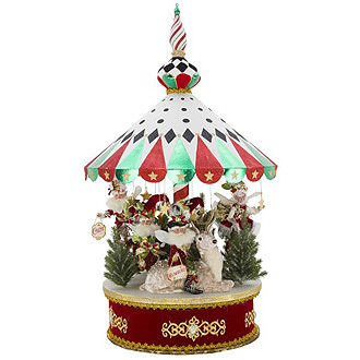 Peppermint Big Top Animated Carousel