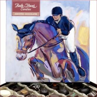 Ruth Hunt Assorted Chocolates Equine Box