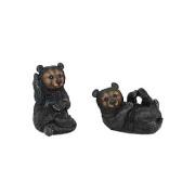 Playful Set of Black Bears