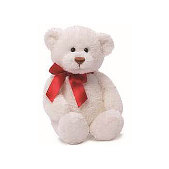 White Plush Bear
