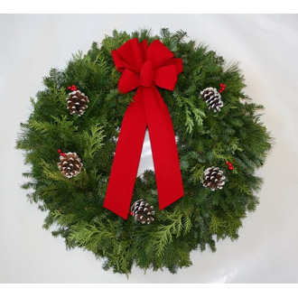 Fresh Christmas Wreath