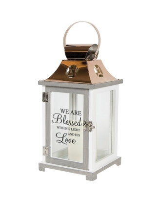 We are blessed Memorial Lantern