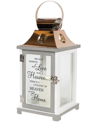 Because someone we love Memorial Lantern