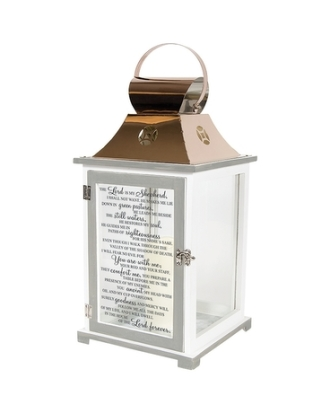 23rd Psalm Memorial Lantern