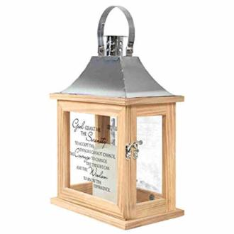 Serenity Prayer Memorial Lantern