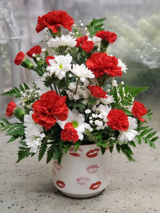 Red Lips Bouquet