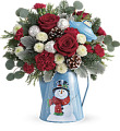 TELEFORA'S FROSTY ENCHANTMENT BOUQUET