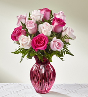 The FTD® Happy Spring™ Mixed Rose Bouquet