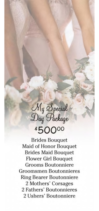 My Special Day Package