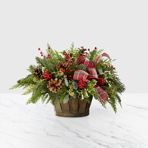 The FTD® Holiday Homecomings™ Basket - Deluxe