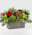 FTD Christmas Cabin Bouquet $54.99