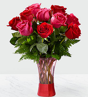 The FTD® Art of Love™ Rose Bouquet - Deluxe