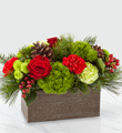 FTD Christmas Cabin Bouquet $59.99