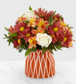 Nancy S Floral Gifts The Ftd Shades Of Autumn Bouquet