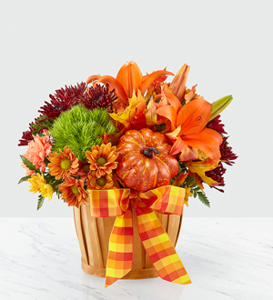 The FTD® Autumn Celebration™ Basket