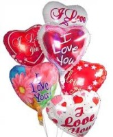 Love & Romance Balloon Bouquet