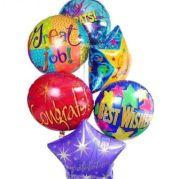 Mrs Flowers Congratulations Balloon Bouquet