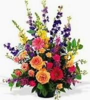 Mrs Flowers Classic Table Arrangement