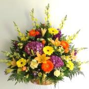 Mrs Flowers Large Mixed Basket