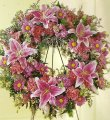 Mrs.Flowers We Fondly Remember Wreath
