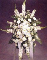 Mrs Flowers Sweet By & By Standing Spray