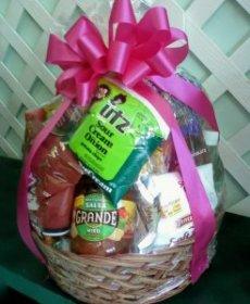 Mrs. Flowers Snack Basket