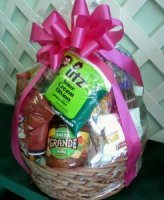 Mrs. Flowers Snack Basket