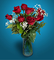 Flowers By Bauers 12 Red Roses Delivered!