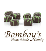 Bomboy's Dark Chocolate Mint Truffle Half Pound