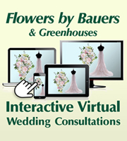 Flowers By Bauers Full Service Interactive Virtual Wedding Consultations