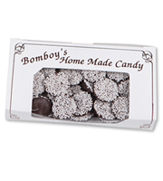 Bomboy's Dark Chocolate Non-Pareils Half Pound