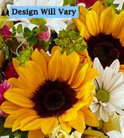 Flowers By Bauers Sunburst Gold Florist Original Bouquet