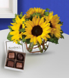 Flowers By Bauers Sweet Sunshine Candy & Flowers