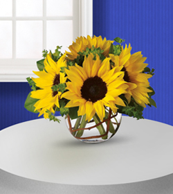 Flowers By Bauers Sunny Flowers Bouquet