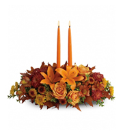 Flowers By Bauers Family Harvest Centerpiece