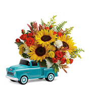 Flowers By Bauers Chevy Pickup Bouquet