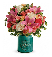 Flowers By Bauers Country Skies Bouquet