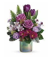 Flowers By Bauers Art Glass Garden Bouquet