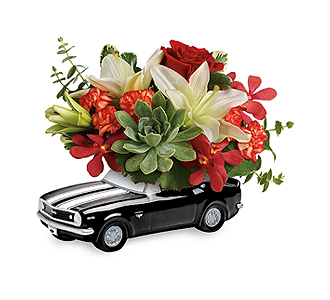 Flowers By Bauers \'67 Chevy Camaro Blooming Bouquet
