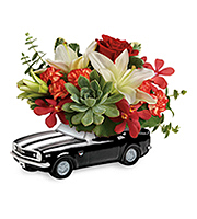 Flowers By Bauers '67 Chevy Camaro Blooming Bouquet