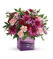 Flowers By Bauers Liquid Lavender Bouquet