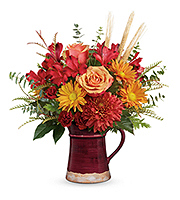 Flowers By Bauers Fields Of Fall Bouquet