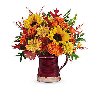 Flowers By Bauers Bounty Of Blooms Bouquet