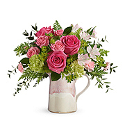 Flowers By Bauers Heart Stone Bouquet