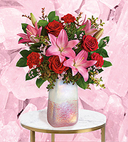 Flowers By Bauers Pretty In Quartz Bouquet