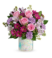 Flowers By Bauers Shine In Style Bouquet DX