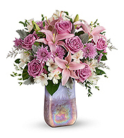 Flowers By Bauers Stunning Swirls Bouquet DX