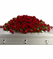 Flowers By Bauers Greatest Love Casket Spray
