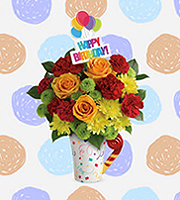 Flowers By Bauers Fun 'n Festive Bouquet