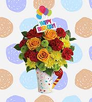 Flowers By Bauers Fun 'n Festive Bouquet